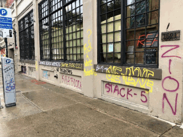 Property owners say vandalism and graffiti are a problem.