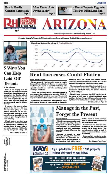 Arizona Rental Housing Journal June 2020