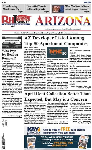 Arizona Rental Housing Journal May 2020