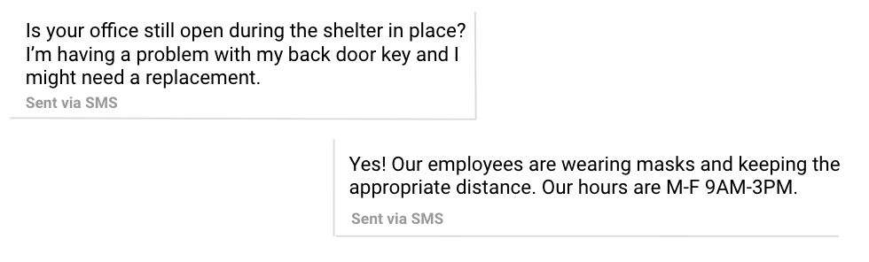 tenant communication