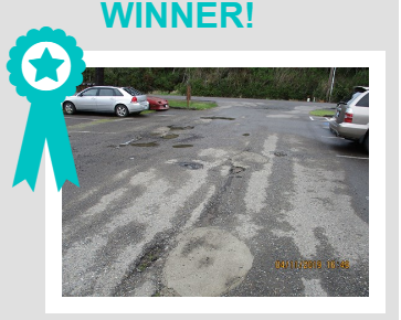 2019 pothole contest winner