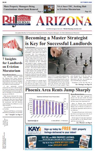 Arizona Rental Housing Journal October 2020
