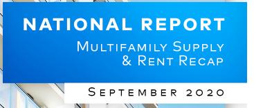 Yardi Matrix September report Affordable multifamily markets in high demand
