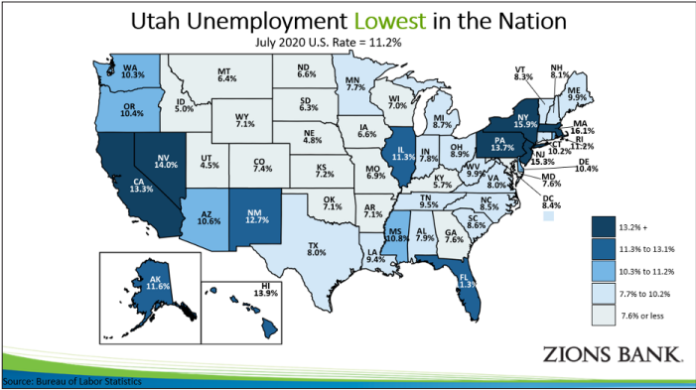 Utah's Economy Recovering Faster Than the Nation's