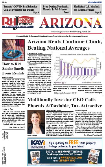 Arizona Rental Housing Journal November 2020