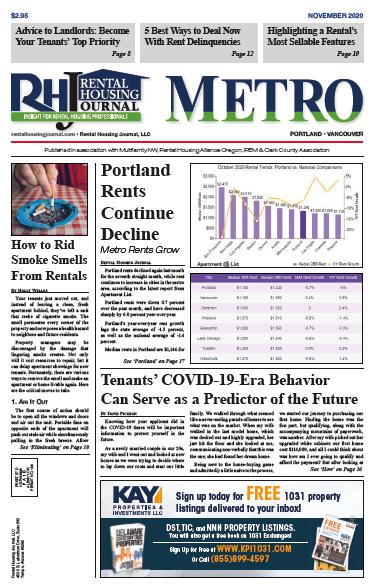 Portland Metro Rental Housing Journal November 2020