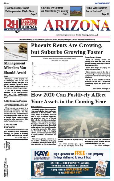 Arizona Rental Housing Journal December 2020