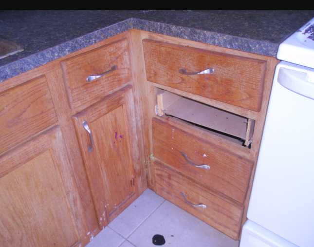 Here is what Landlord Hank was facing in the renovation of his duplex