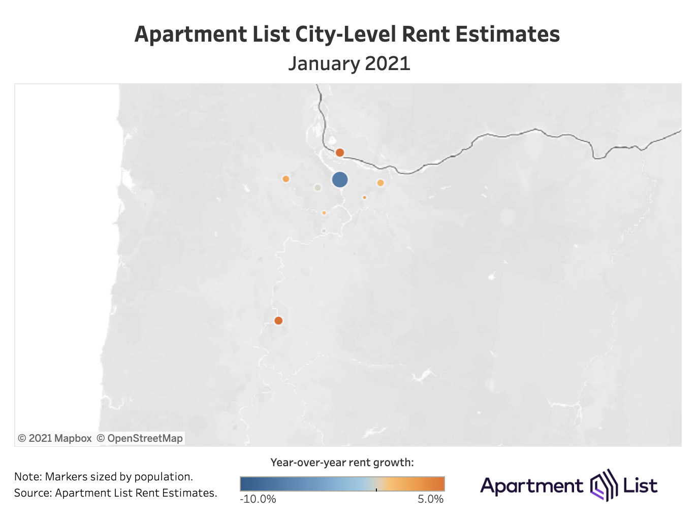 Rents in Hard-Hit Metros May Have Reached the Bottom