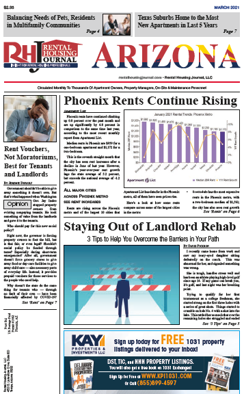 Arizona Rental Housing Journal March 2021
