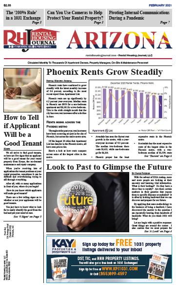 Rental Housing Journal Arizona February 2021