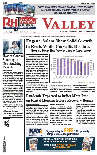 Oregon Valley Rental Housing Journal February 2021