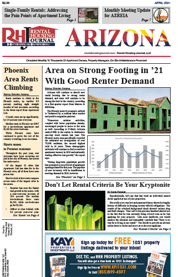 Arizona Rental Housing Journal April 2021