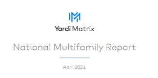 Multifamily Markets Continue To Show Rent Growth
