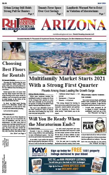 Arizona Rental Housing Journal May 2021