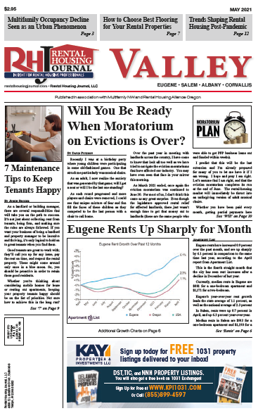 Oregon Valley Rental Housing Journal May 2021