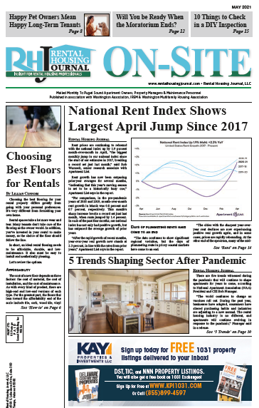 Seattle Puget Sound Edition Rental Housing Journal May 2021