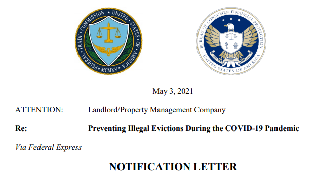 Federal Agencies Warn Large Landlords About Tenants' Pandemic Protections