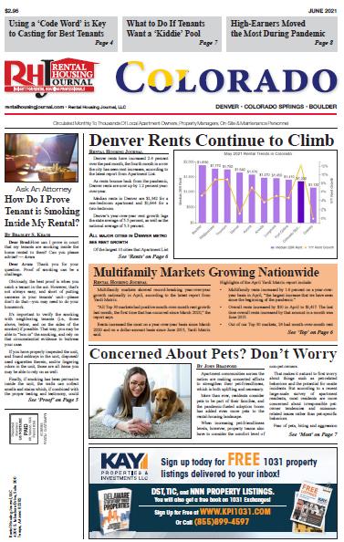 Colorado Rental Housing Journal June 2021