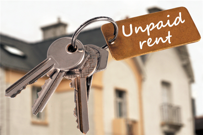 A research study shows that of small landlords with three or fewer properties, 56 percent are dealing with delinquent renters