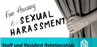 Fair Housing and Sexual Harassment - Staff and Resident Relationships